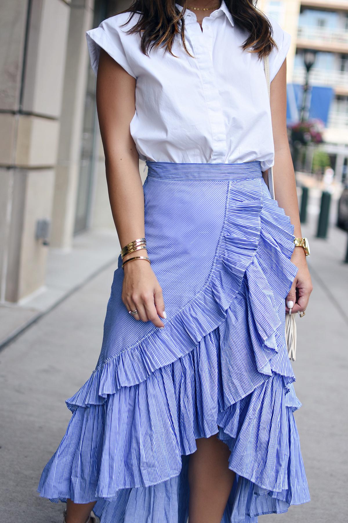 Ruffle Maxi Skirt Styling Tips | Fashion & Style