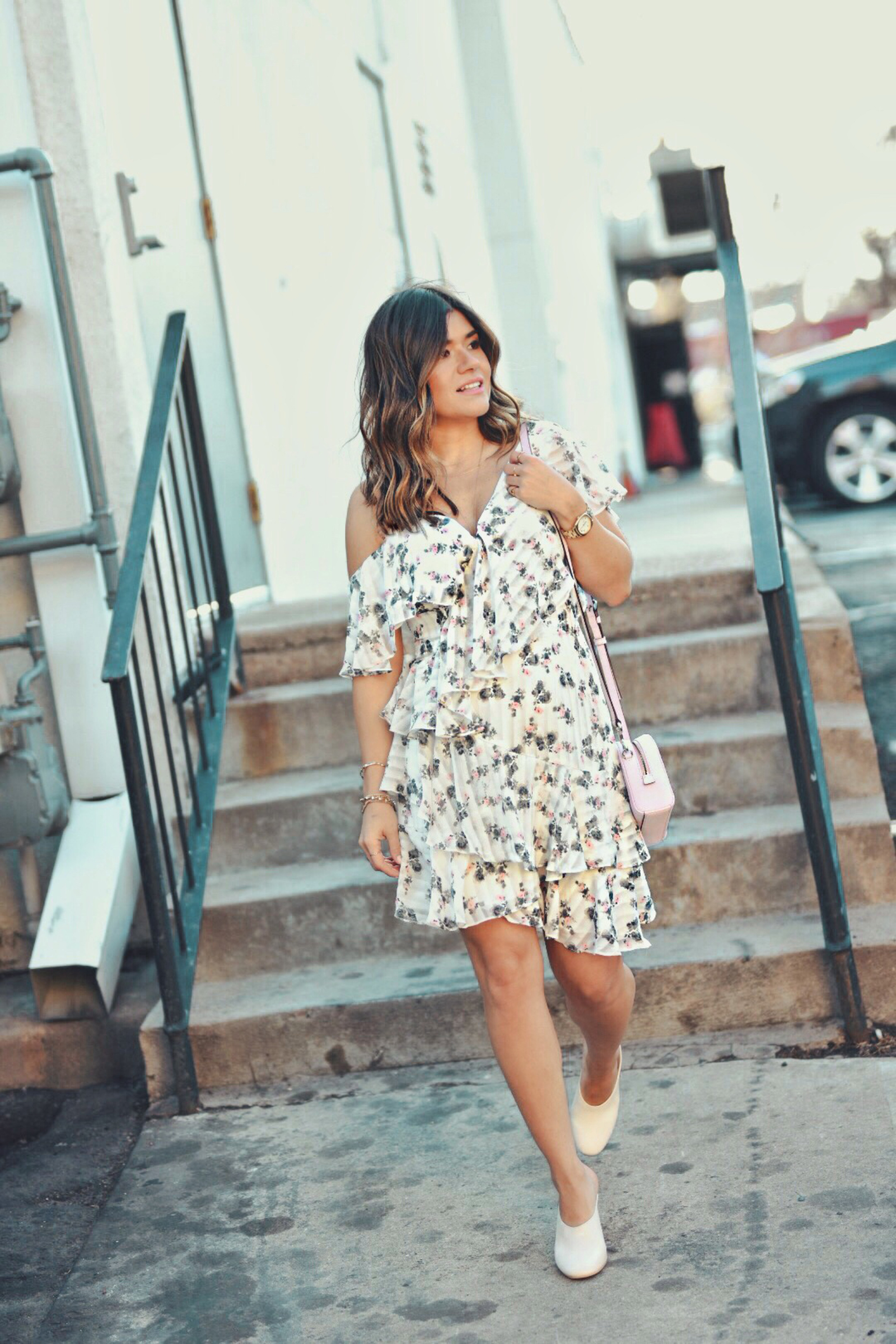 A Flirty Floral Dress for Spring Fashion & Style